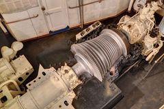 Steam turbine royalty free stock image