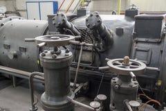 Steam turbine Stock Photo