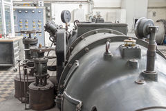 Steam turbine Royalty Free Stock Images