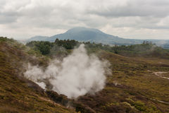 Steam vent at Craters of the Moon Stock Photos