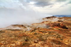 Steam vents Royalty Free Stock Image