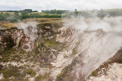 Steam vents at Craters of the Moon Stock Photos