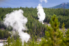 Steam vents Royalty Free Stock Photo