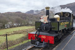Steam on the Welsh Highland Railway Royalty Free Stock Photos