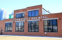 Steam Whistle Brewery Royalty Free Stock Photos