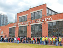 Steam Whistle Brewing Stock Image