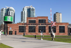 Steam Whistle Brewing building Royalty Free Stock Images