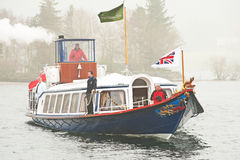 Steam Yacht Gondola Royalty Free Stock Photo