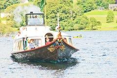 Steam Yacht Gondola: S Y Gondola. Stock Image