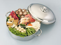 Steamboat. Stock image of the steamboat-asian cusine royalty free stock image
