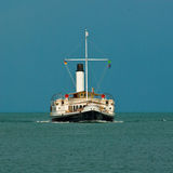 Steamboat. SD Hohentwiel on the lake of constance, germany royalty free stock photo