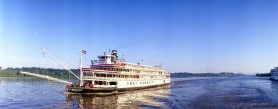 Steamboat della regina di delta Immagini Stock