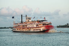 Steamboat di New Orleans Immagini Stock