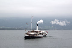 Steamboat. On the Lake Bodensee, Germany royalty free stock images