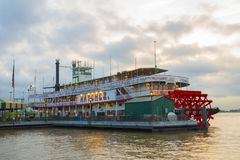Steamboat Natchez in New Orleans, Louisiana, USA Royalty Free Stock Photography