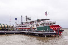 Steamboat Natchez in New Orleans Stock Photography