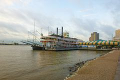Steamboat Natchez in New Orleans, Louisiana, USA Royalty Free Stock Image