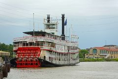 Steamboat Natchez in New Orleans, Louisiana, USA Stock Photos