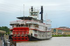 Steamboat Natchez in New Orleans, Louisiana, USA Stock Photography