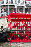 Steamboat Natchez prepares for its daily cruise up the Mississippi. Royalty Free Stock Photography