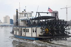 Steamboat in Norfolk, Virginia Stock Photo