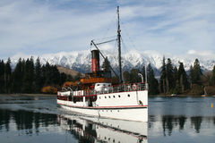 Free Steamboat On Lake Stock Photography - 10783182