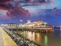 Steamboat On Mississippi River, New Orleans Royalty Free Stock Images