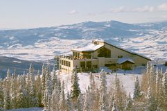 Steamboat ski resort, Colorado Stock Photography