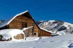 Steamboat Spring Barn Royalty Free Stock Photo
