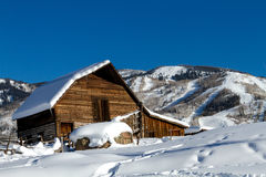 Steamboat Spring Barn Royalty Free Stock Photography