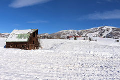 Steamboat Springs, Колорадо Стоковое Изображение