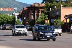 Steamboat Springs Colorado Arkivfoto