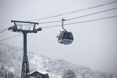 Steamboat Springs Gondola Royalty Free Stock Photos