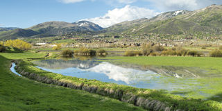 Steamboat Springs, le Colorado image stock