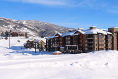 Steamboat Springs, le Colorado Photographie stock