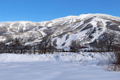 Steamboat Springs, le Colorado Photo stock