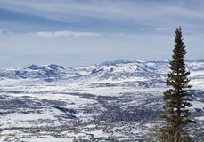 Steamboat Springs. A ski resort in Colorado royalty free stock image