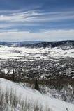 Steamboat Springs skidar semesterorten Royaltyfria Bilder