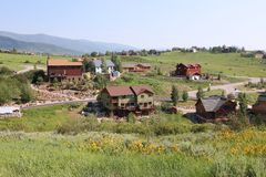 Steamboat Springs Stock Image