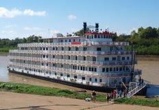 Steamboat sul fiume Mississippi Fotografia Stock