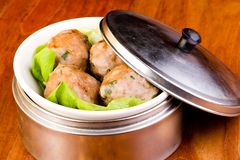 Steamed Beef Dim Sum Stock Images