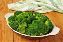 Steamed broccoli Royalty Free Stock Image