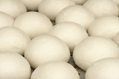 Steamed bun. The close-up of steamed bun royalty free stock photos