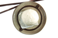 Steamed bun dim sum, chinese food style Royalty Free Stock Image