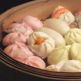 Steamed bun Royalty Free Stock Image