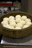 Steamed chicken buns Royalty Free Stock Photos