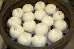 Steamed chicken buns Royalty Free Stock Photo
