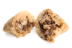 Steamed Chinese Rice Dumpling Stock Images