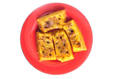 Steamed cinnamon raisin pumpkin Royalty Free Stock Images