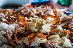 Steamed crab Royalty Free Stock Photos